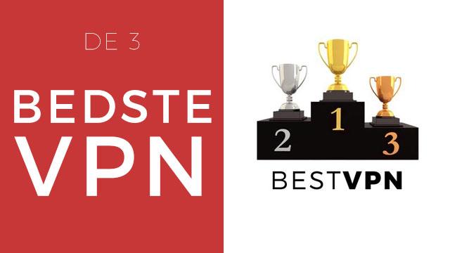 De 3 Bedste VPN online